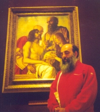 Peppe (1958) and S.Nicodemo from Bellini (1475 ca)