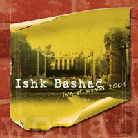 Cd Ishk Bashad Live at Womad 2001, cover