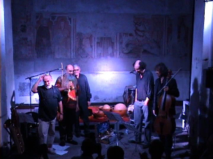 Sandro Cappelletto & Marangolo Quartetto Orizzontale. InContemporanea Festival, Ovada august 2009